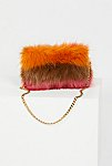 Thumbnail View 4: Striped Faux Fur Crossbody