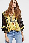 Thumbnail View 2: Boogie All Night Printed Blouse