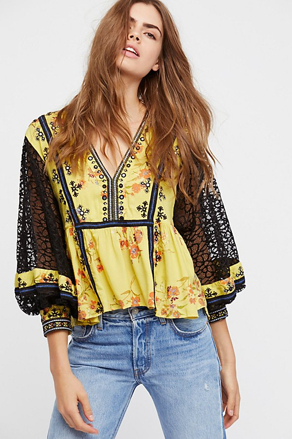 Slide View 2: Boogie All Night Printed Blouse