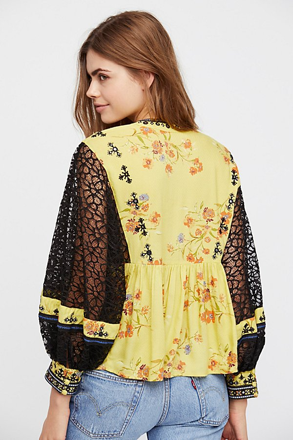 Slide View 3: Boogie All Night Printed Blouse