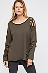 Thumbnail View 3: Nellie Distressed Pullover
