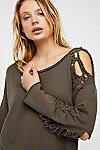 Thumbnail View 1: Nellie Distressed Pullover