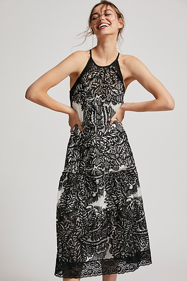 Slide View 1: Leave It Alone Midi Dress