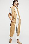 Thumbnail View 1: Sleeveless Trench