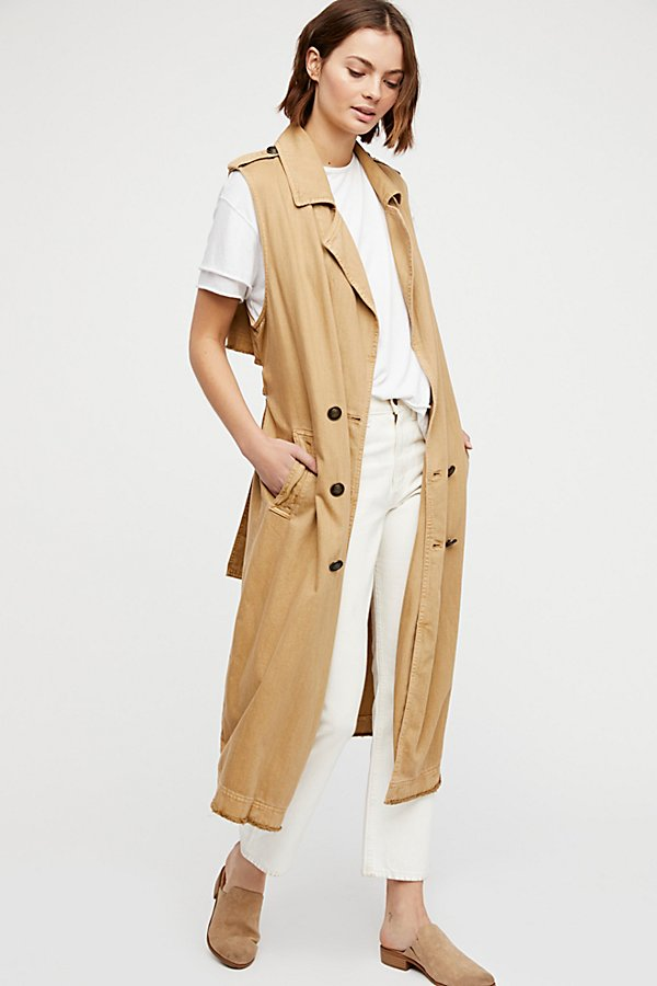 Slide View 1: Sleeveless Trench