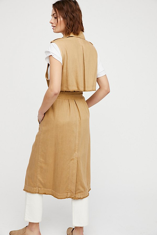 Slide View 2: Sleeveless Trench