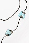 Thumbnail View 2: Pyrite x Turquoise Layering Necklace