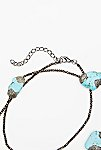 Thumbnail View 3: Pyrite x Turquoise Layering Necklace