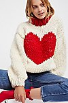Thumbnail View 1: Happy Hearts Sweater