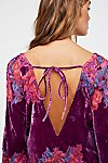 Thumbnail View 4: Misha Burnout Velvet Mini Dress