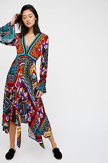 Over The Rainbow Maxi Dress