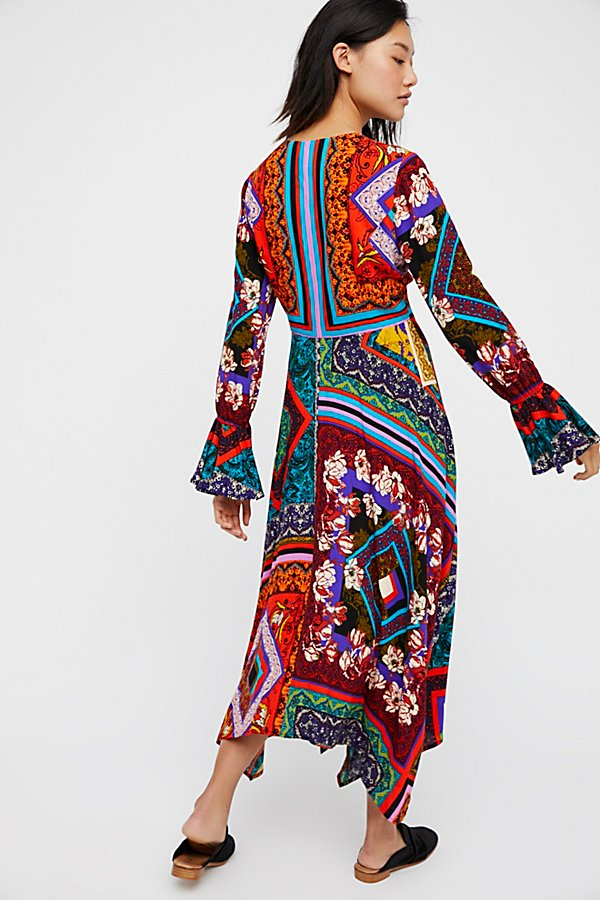 Slide View 2: Over The Rainbow Maxi Dress