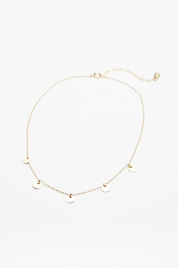Slide View 2: Madrid Coins Delicate Choker
