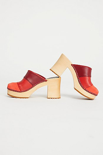 Colorblock Clog