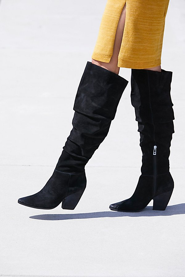 Slide View 1: Jessie Slouch Over-The-Knee Boot