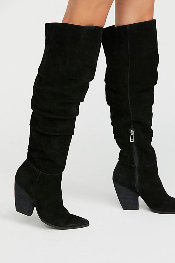 Slide View 2: Jessie Slouch Over-The-Knee Boot