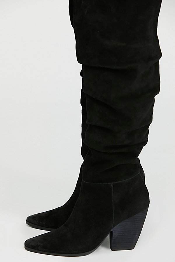 Slide View 3: Jessie Slouch Over-The-Knee Boot
