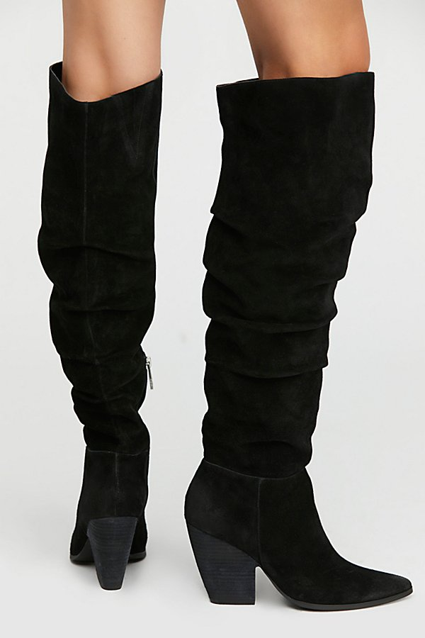 Slide View 4: Jessie Slouch Over-The-Knee Boot