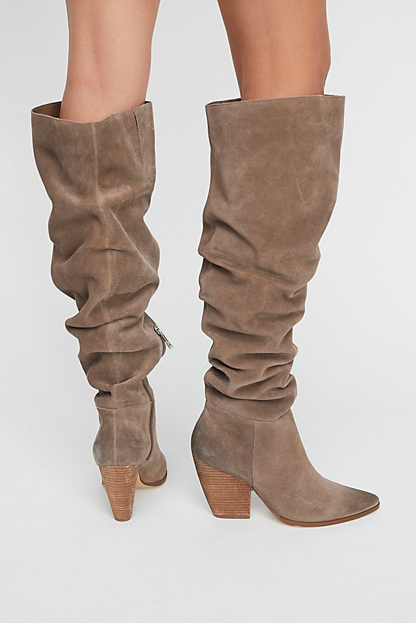 Slide View 5: Jessie Slouch Over-The-Knee Boot