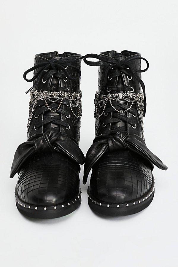 Slide View 1: Magic Jewels Lace-Up Boot