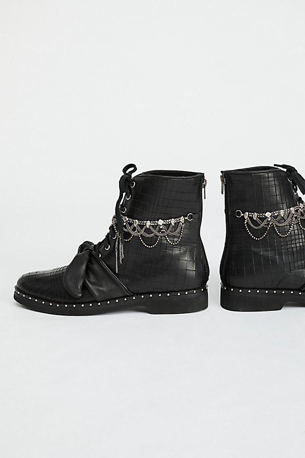 Slide View 4: Magic Jewels Lace-Up Boot
