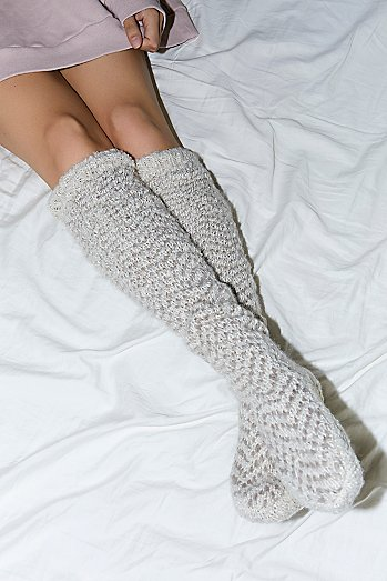 Chevron Cozy Tall Socks