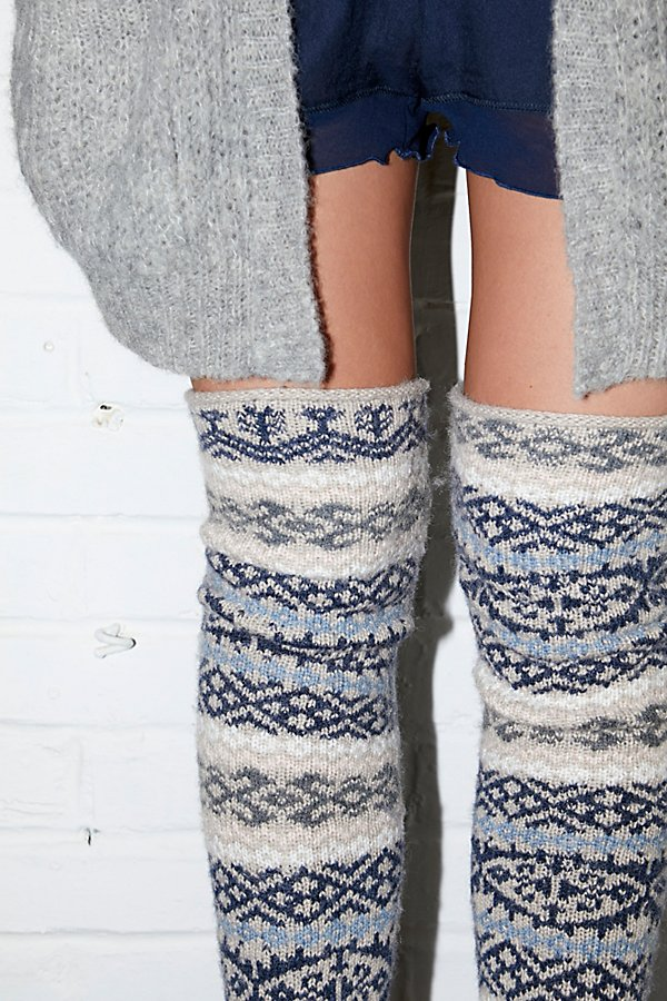 Slide View 1: Fairisle Legwarmer