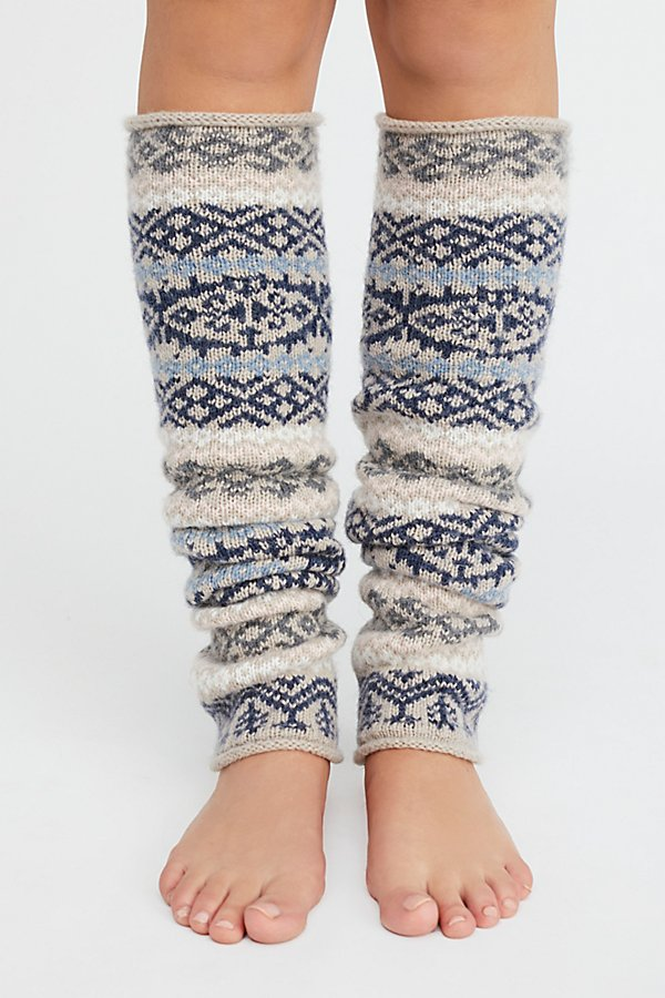 Slide View 2: Fairisle Legwarmer