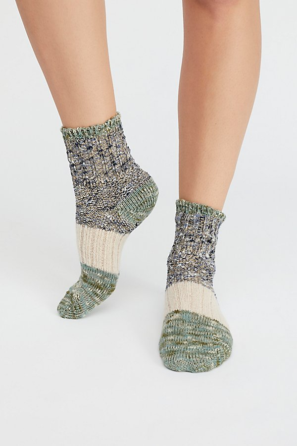 Slide View 2: Sparkle Dabble Crew Sock