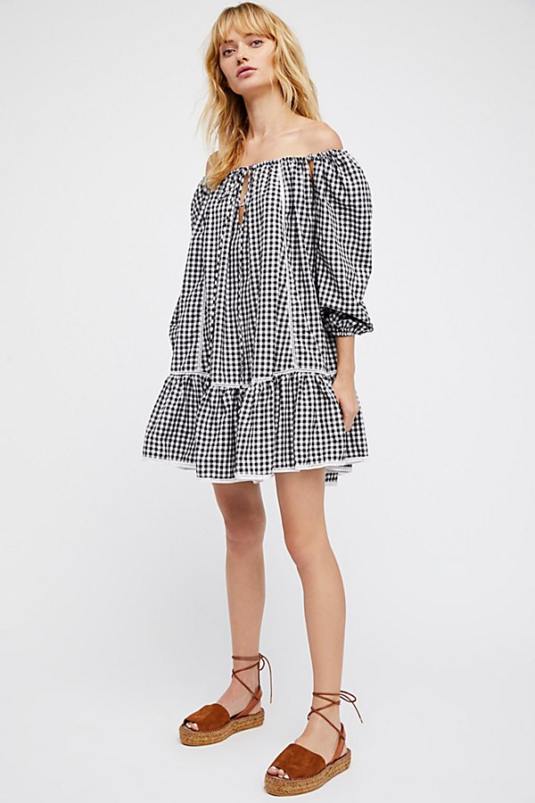 Slide View 3: Freda Gingham Dress