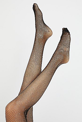 Sparkle Fishnet Tights