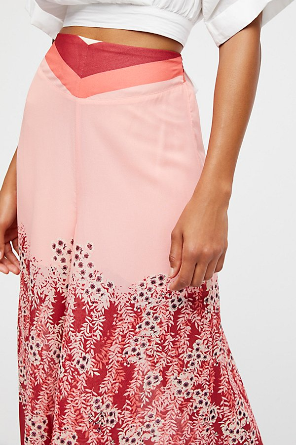 Slide View 3: Off The Grid Printed Culottes