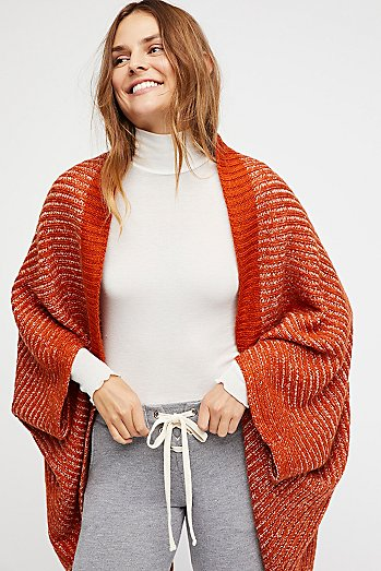 Staycation Ribbed Knit Cocoon