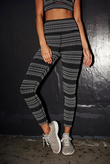 Slide View 3: Allover Reflective Raku Legging