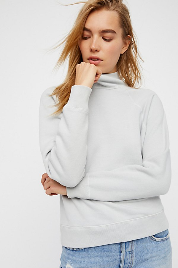 Slide View 2: Turtleneck Sweatshirt