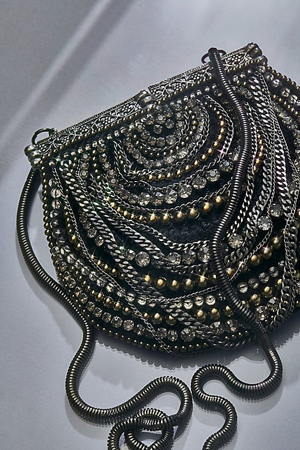 Slide View 9: Diamonte Embellished Crossbody
