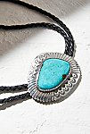 Thumbnail View 3: Sterling Turquoise Leather Bolo
