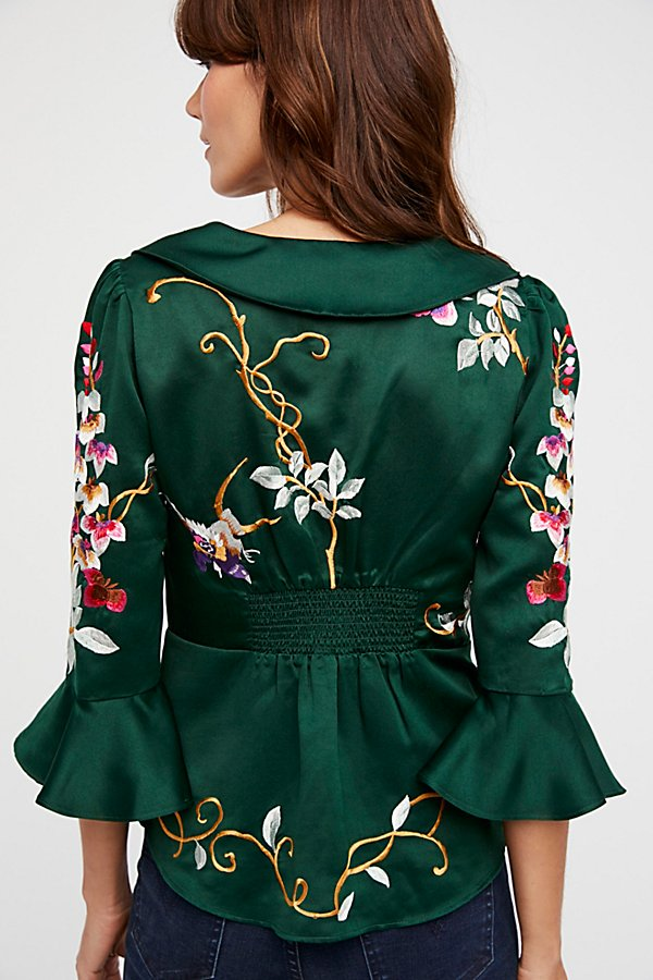 Slide View 3: Beautiful Dreams Embroidered Top
