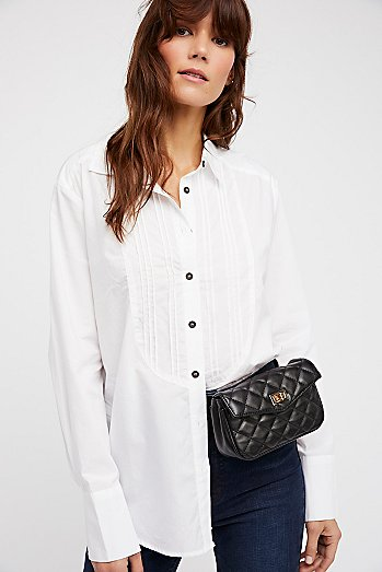 Charlie Buttondown Top