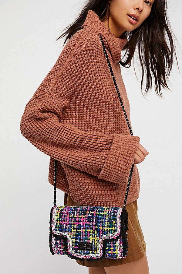 Slide View 6: Brielle Tweed Crossbody