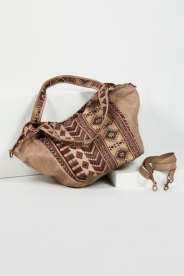 Slide View 5: Costa Distressed Leather Tote