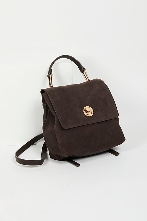 Slide View 2: Century Suede Backpack