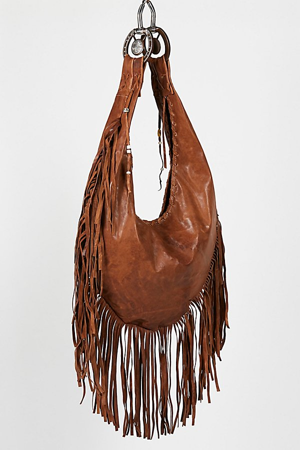 Slide View 2: Willow Fringe Hobo