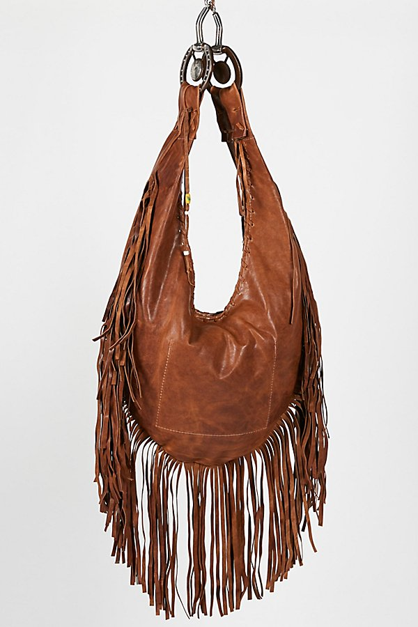 Slide View 4: Willow Fringe Hobo