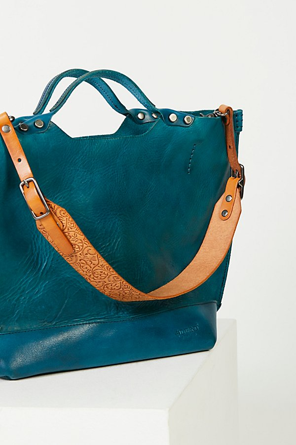 Slide View 3: Loveland Leather Tote