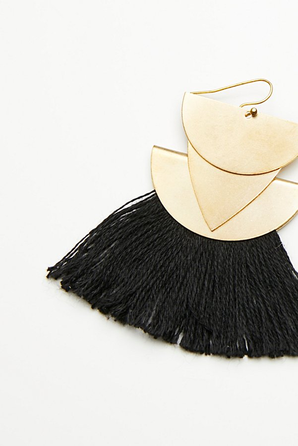 Slide View 3: Diamond Canyon Tassel Earring