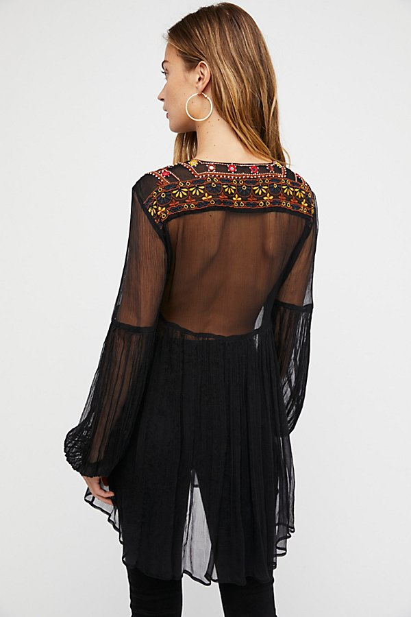 Slide View 2: Wanderlust Embroidered Tunic