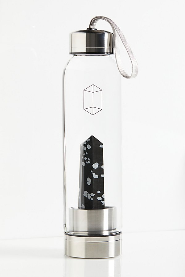Slide View 3: Glacce Exclusive Crystal Water Bottle