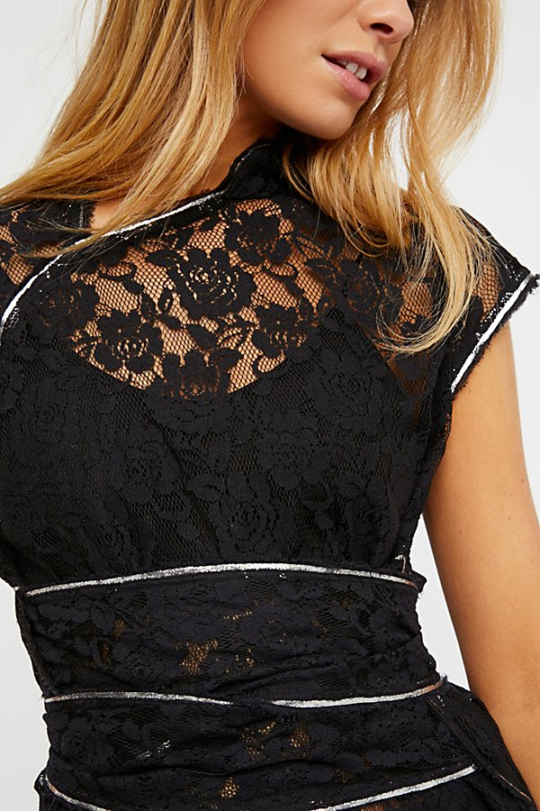Slide View 3: FP One Cheongsam Lace Tunic