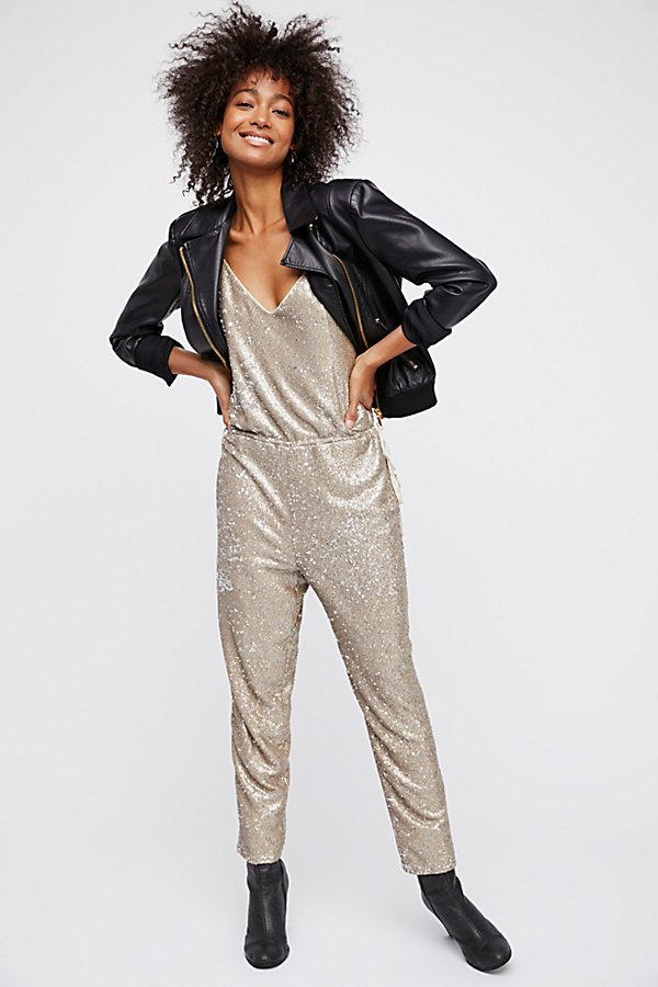 Slide View 2: Sequin Pantsuit